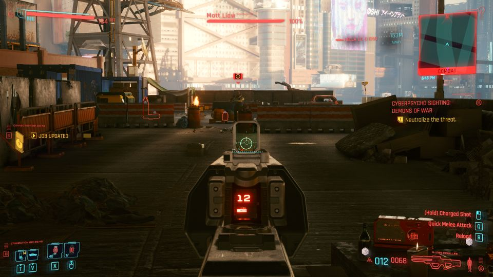 cyberpunk 2077 - demons of war walkthrough
