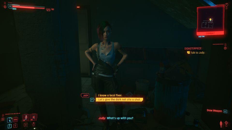 cyberpunk 2077 - disasterpiece guide