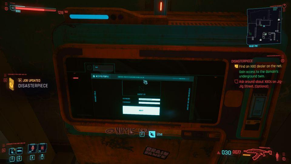 cyberpunk 2077 - disasterpiece mission