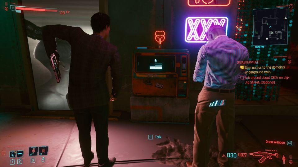 cyberpunk 2077 - disasterpiece quest