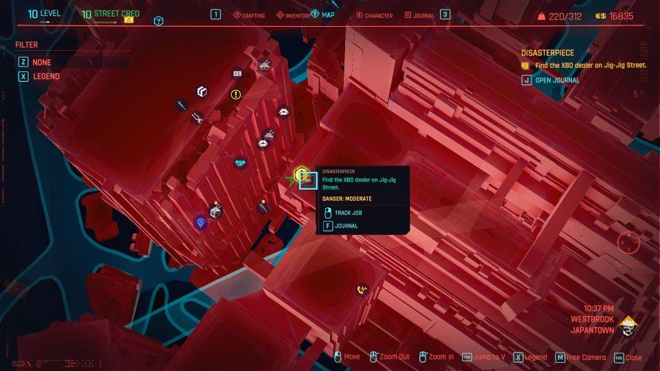 cyberpunk 2077 - disasterpiece wiki