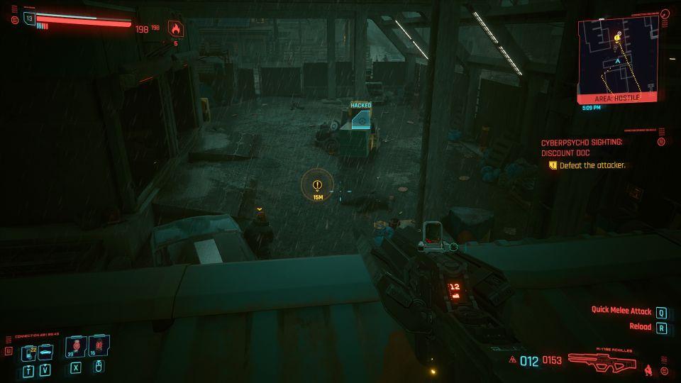 cyberpunk 2077 - discount doc (cyberpsycho sighting) wiki