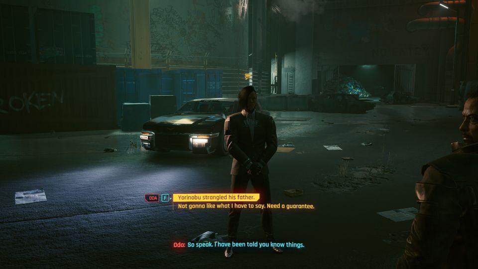 cyberpunk 2077 - down on the street walkthrough