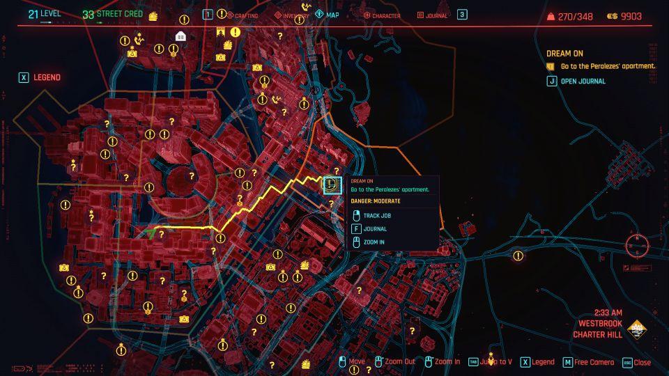 cyberpunk 2077 - dream on guide