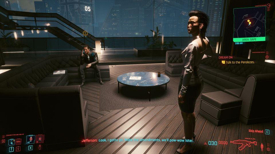 cyberpunk 2077 - dream on mission