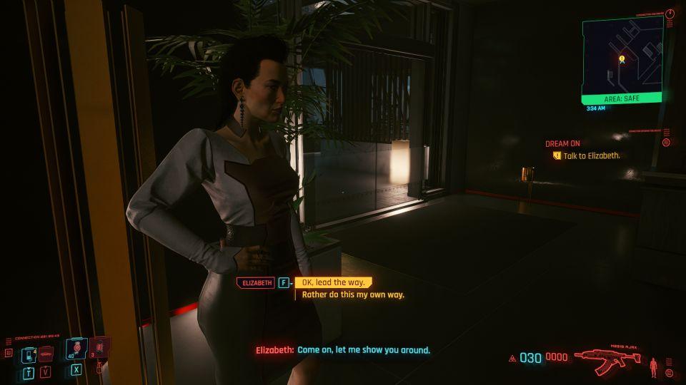 cyberpunk 2077 - dream on tips