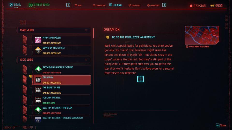 cyberpunk 2077 - dream on
