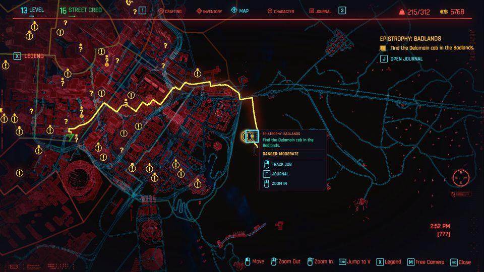cyberpunk 2077 - epistrophy badlands guide