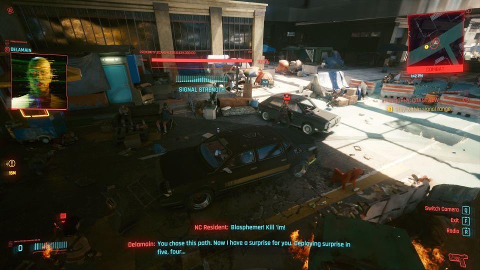 cyberpunk 2077 - epistrophy coastview walkthrough