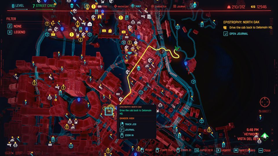 cyberpunk 2077 - epistrophy north oak walkthrough