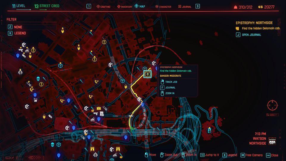 cyberpunk 2077 epistrophy northside