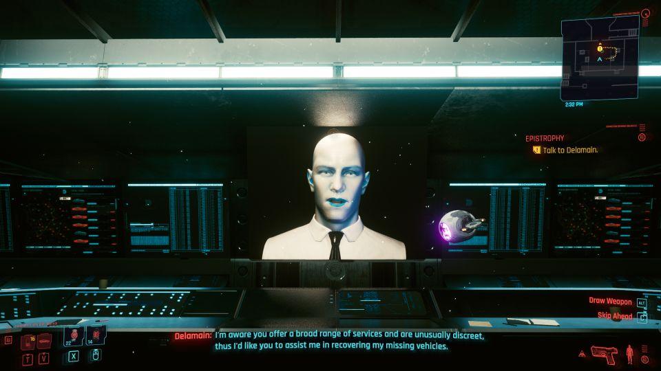 cyberpunk 2077 - epistrophy walkthrough