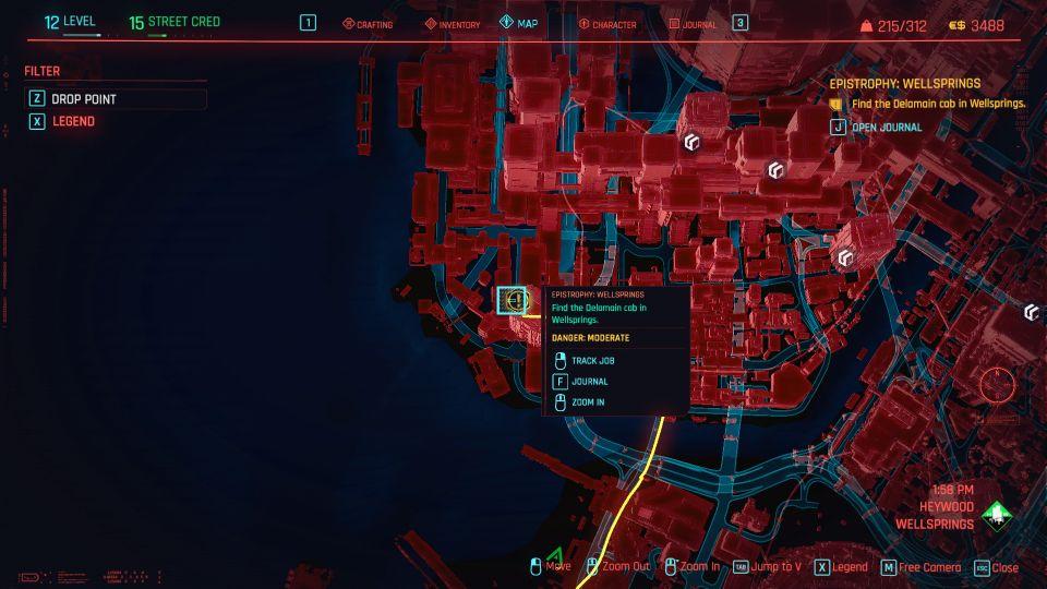 cyberpunk 2077 - epistrophy wellsprings guide