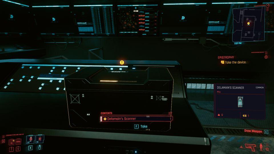 cyberpunk 2077 - epistrophy wiki