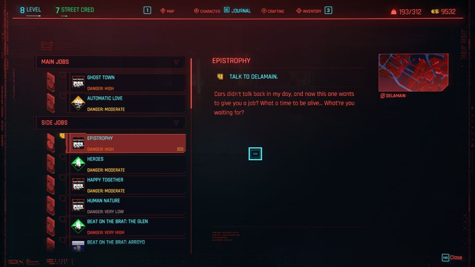 cyberpunk 2077 - epistrophy