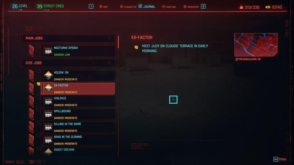 cyberpunk 2077 - ex-factor