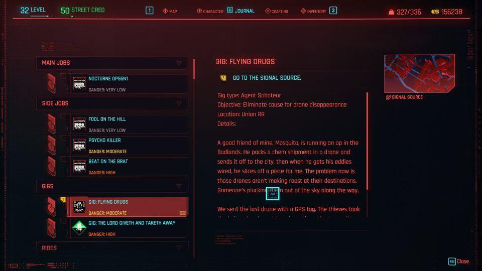 cyberpunk 2077 - flying drugs