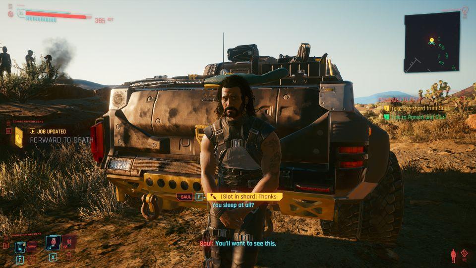 cyberpunk 2077 - forward to death mission