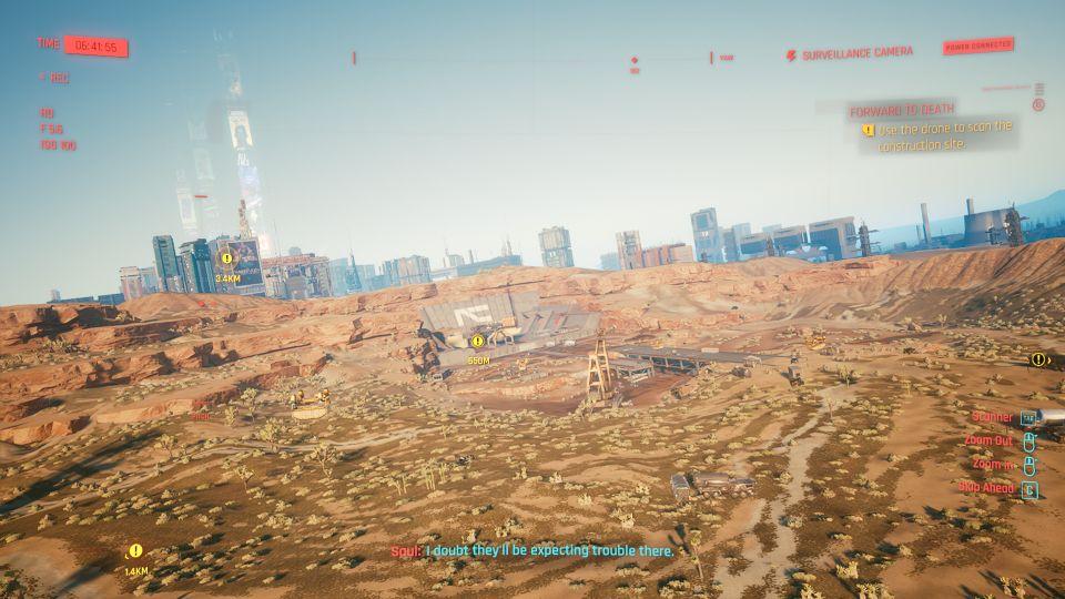 cyberpunk 2077 - forward to death walkthrough