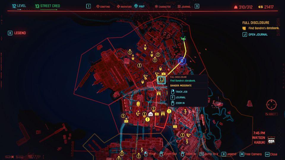 cyberpunk 2077 - full disclosure mission