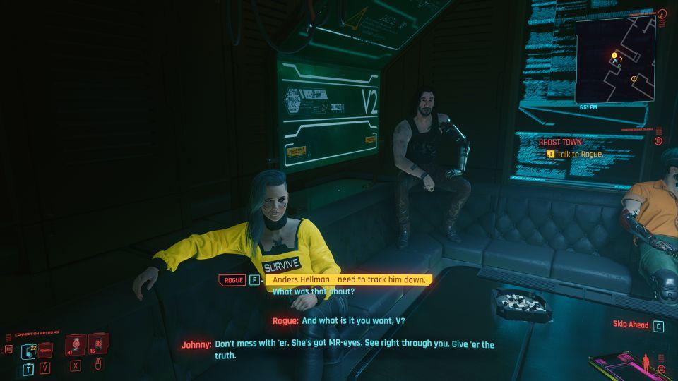 cyberpunk 2077 - ghost town job