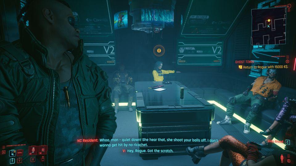 cyberpunk 2077 - ghost town walkthrough