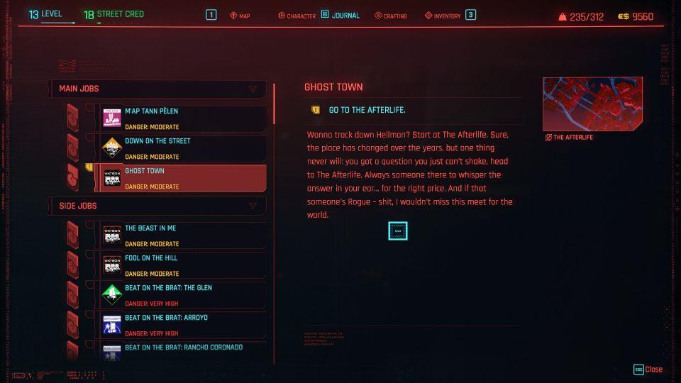 cyberpunk 2077 - ghost town