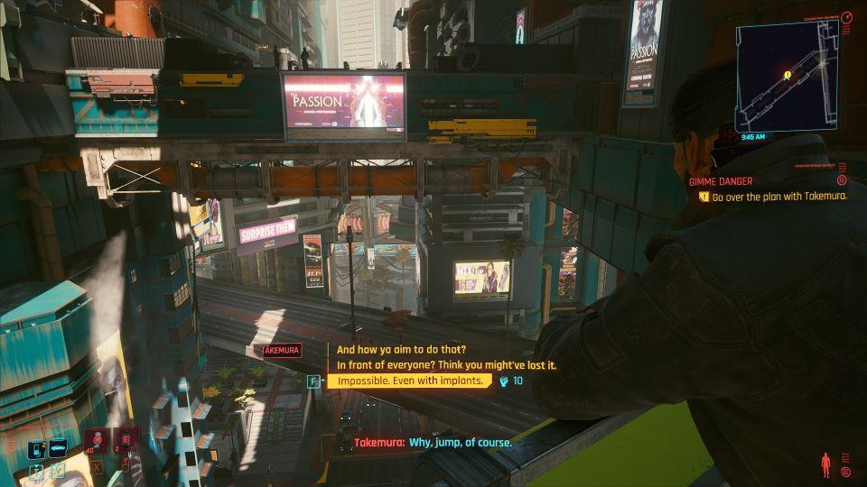cyberpunk 2077 - gimme danger walkthrough