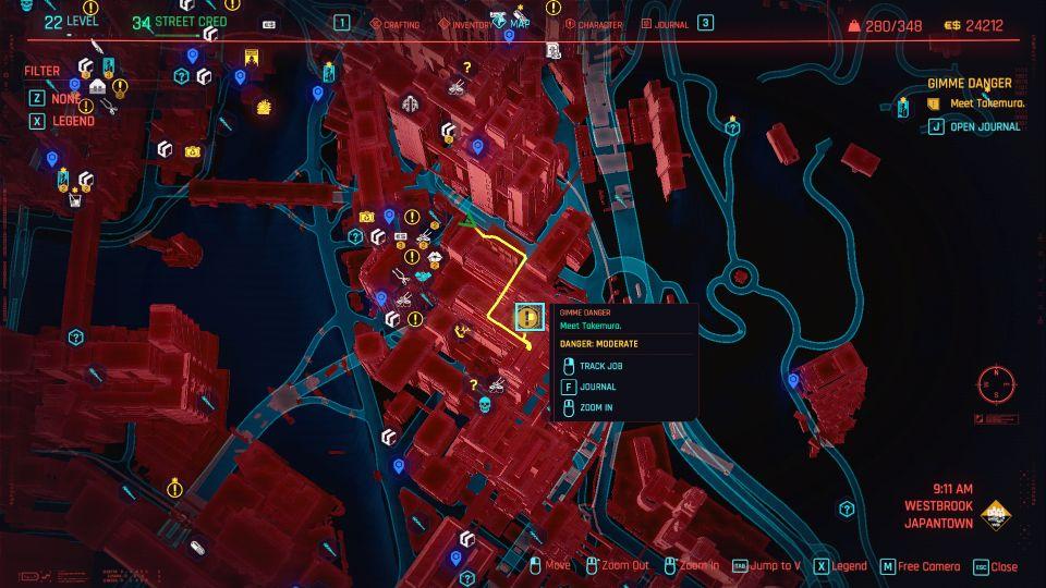 cyberpunk 2077 - gimme danger