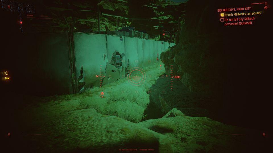 cyberpunk 2077 - goodbye, night city walkthrough