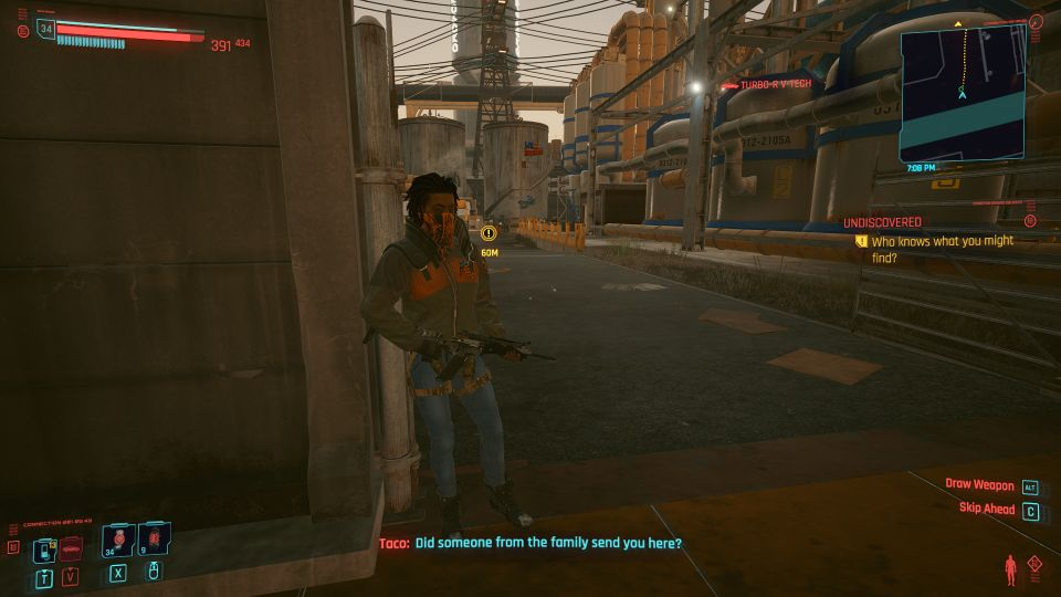 cyberpunk 2077 - gun music