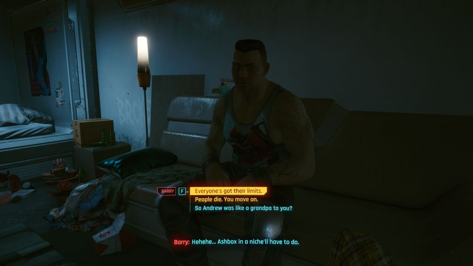 cyberpunk 2077 - happy together tips