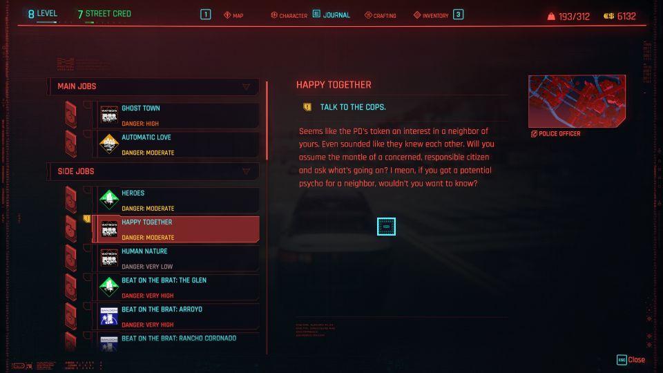 cyberpunk 2077 - happy together