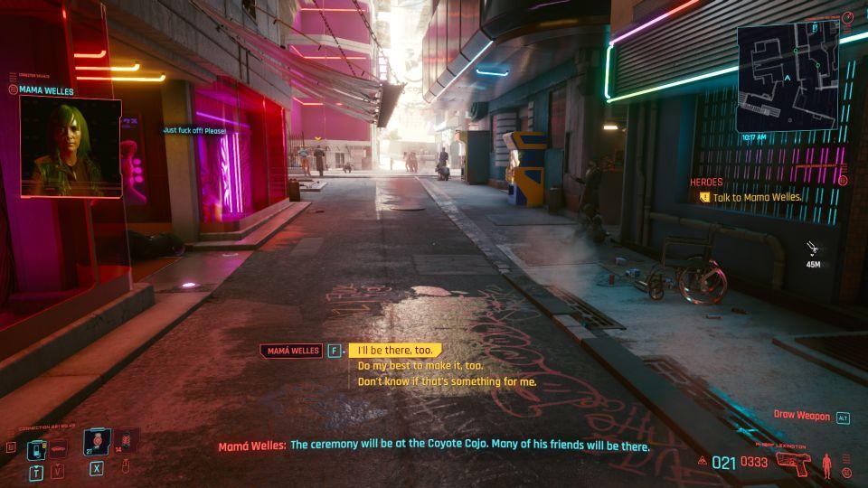 cyberpunk 2077 - heroes job