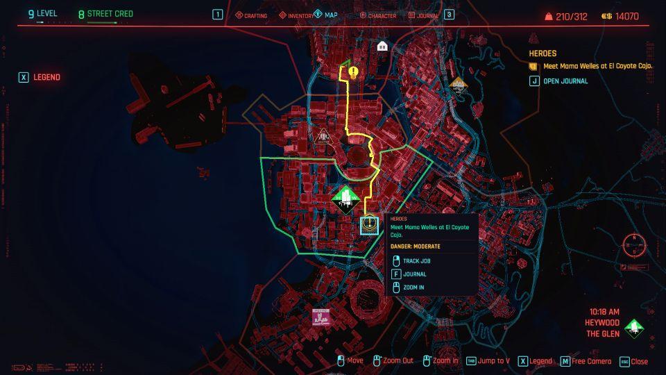 cyberpunk 2077 - heroes walkthrough