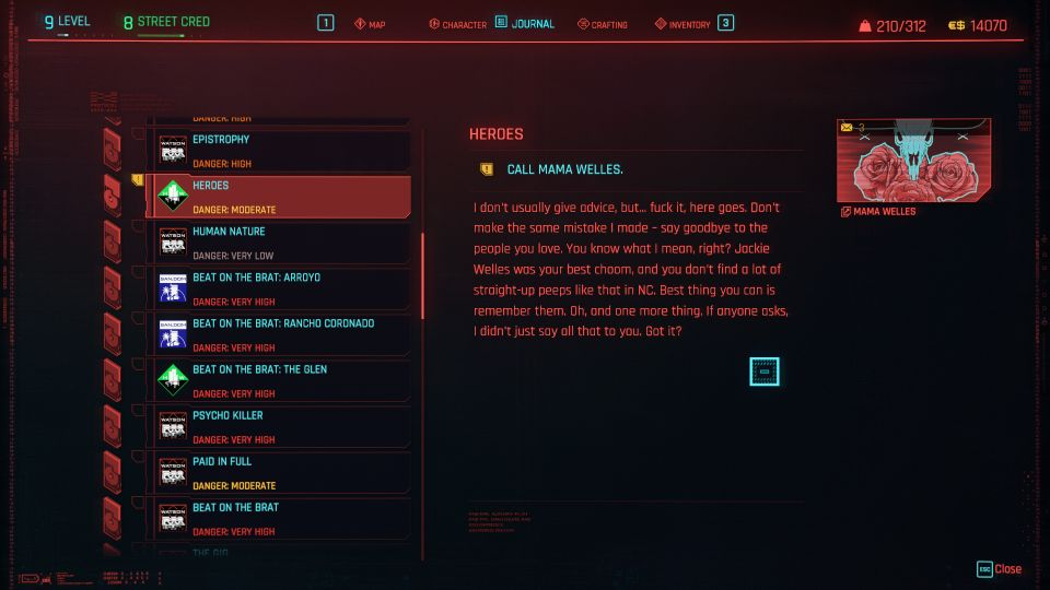 cyberpunk 2077 - heroes