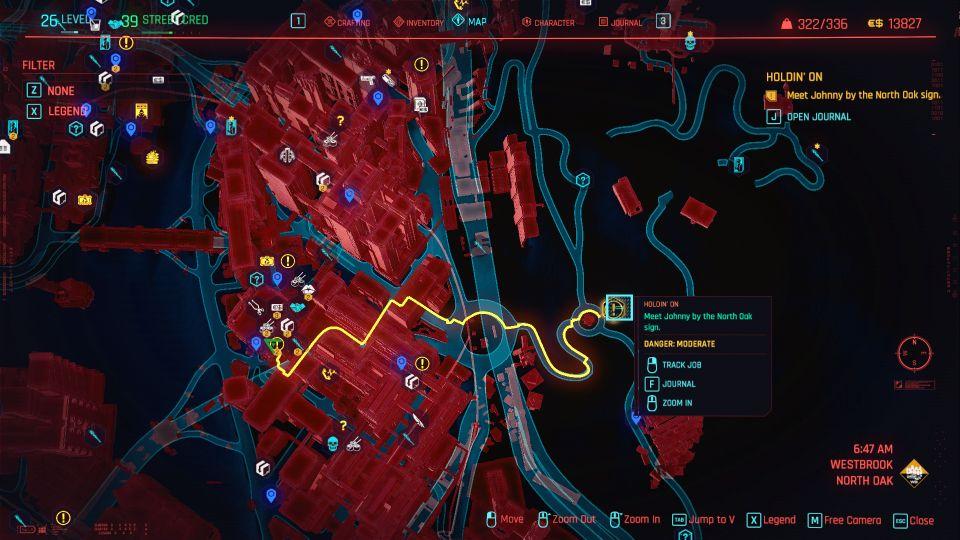 cyberpunk 2077 - holdin' on guide
