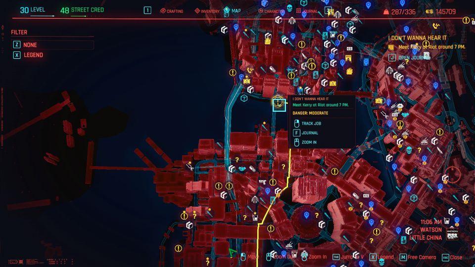 cyberpunk 2077 - i don't wanna hear it guide