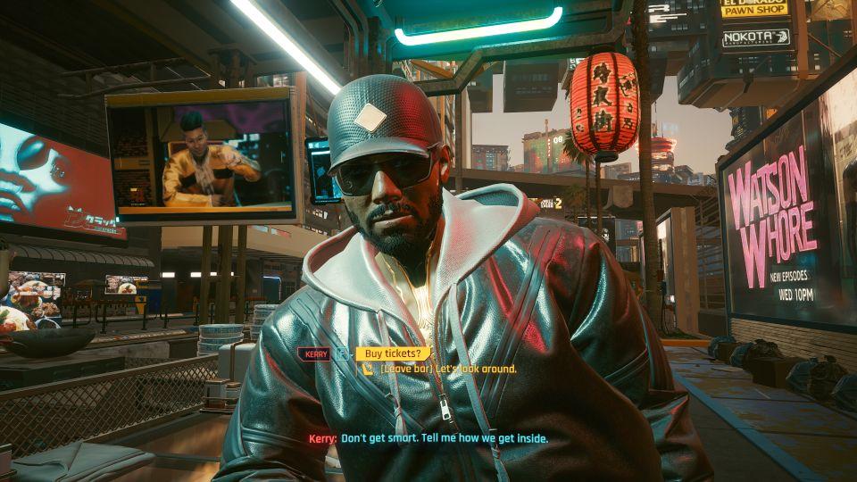 cyberpunk 2077 - i don't wanna hear it walkthrough
