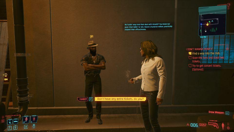 cyberpunk 2077 - i don't wanna hear it wiki