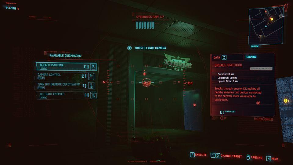 cyberpunk 2077 - i walk the line walkthrough