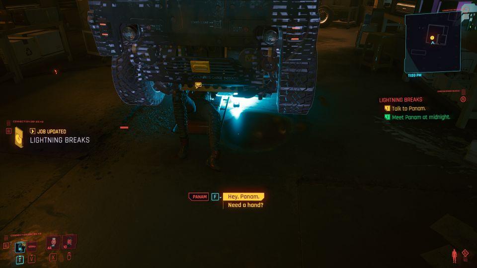 cyberpunk 2077 - lightning breaks guide