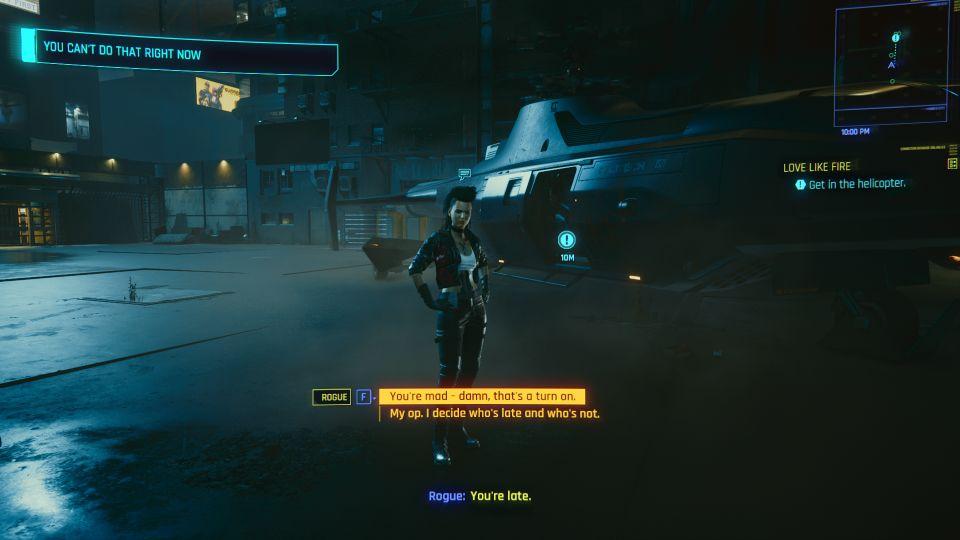cyberpunk 2077 - love like fire mission