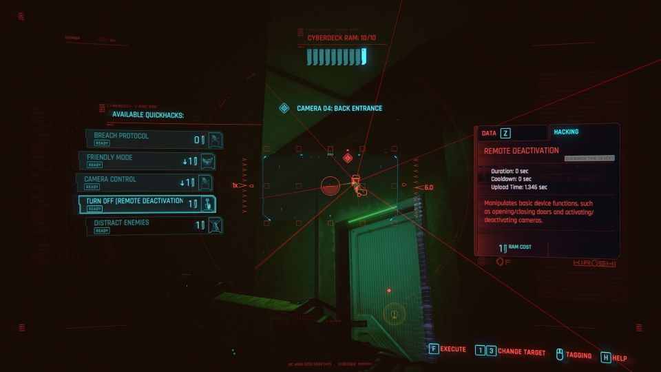 cyberpunk 2077 - many ways to skin a cat wiki