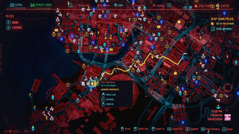 cyberpunk 2077 - m'ap tann pelen mission