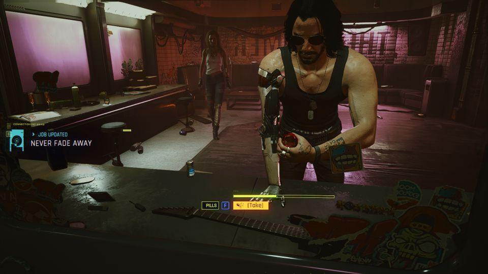 cyberpunk 2077 - never fade away guide