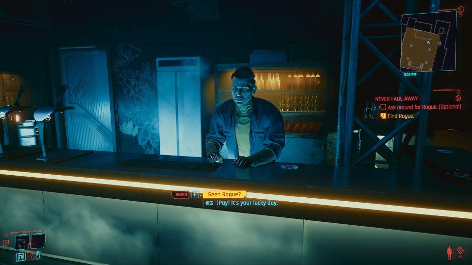 cyberpunk 2077 - never fade away wiki
