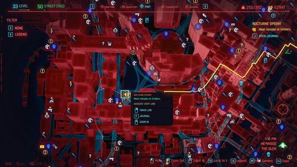 cyberpunk 2077 - nocturne op55N1 guide