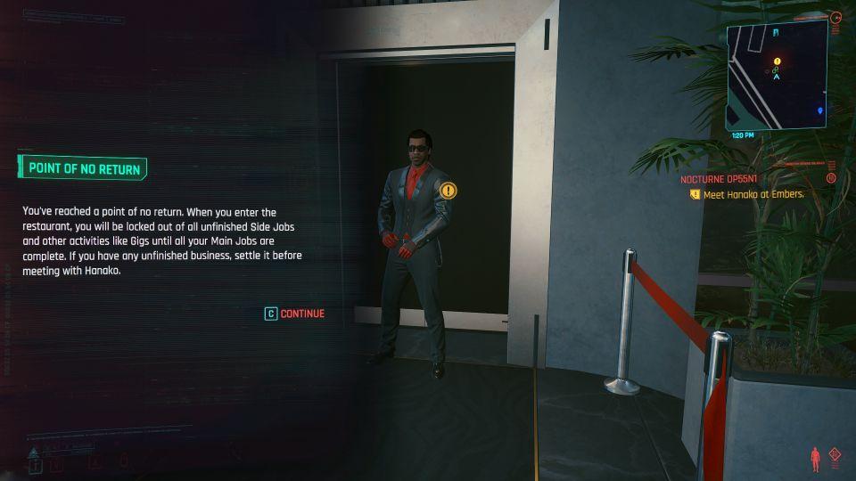 cyberpunk 2077 - nocturne op55N1 mission