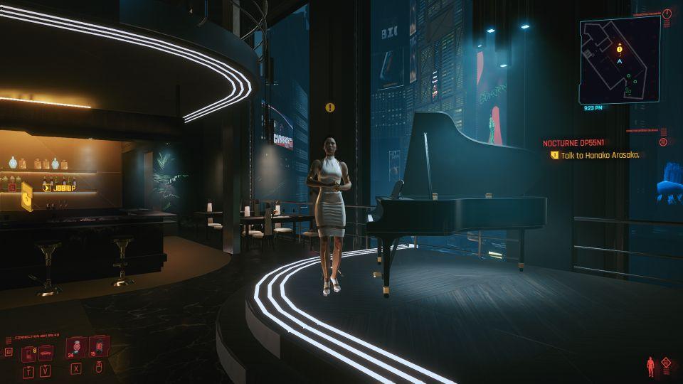 cyberpunk 2077 - nocturne op55N1 walkthrough